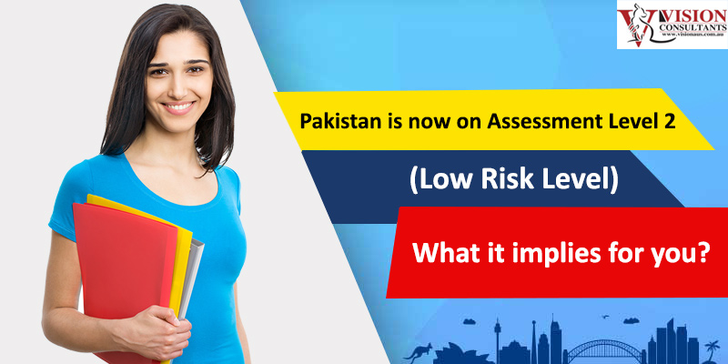 Pakistan is now on Assessment Level 2