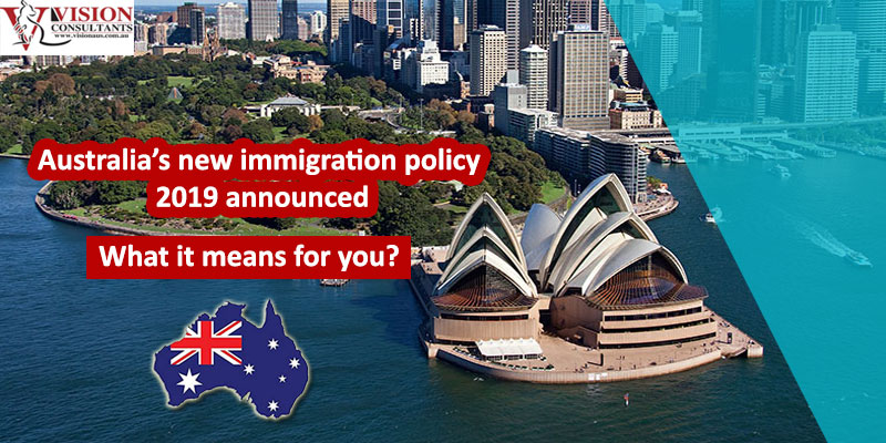 Australia's new immigration policy 2019
