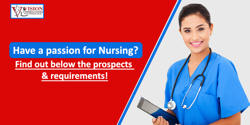 Have a passion for Nursing? Find out below the prospects & requirements!