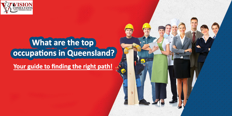 What are the top occupations in Queensland